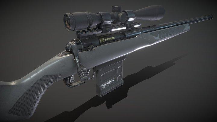 Savage 110 Tactical 3D Model