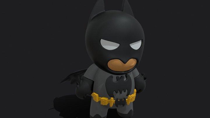 Little Batman 3D Model