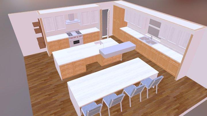Mercer Island Kitchen by Silk Architects 3D Model