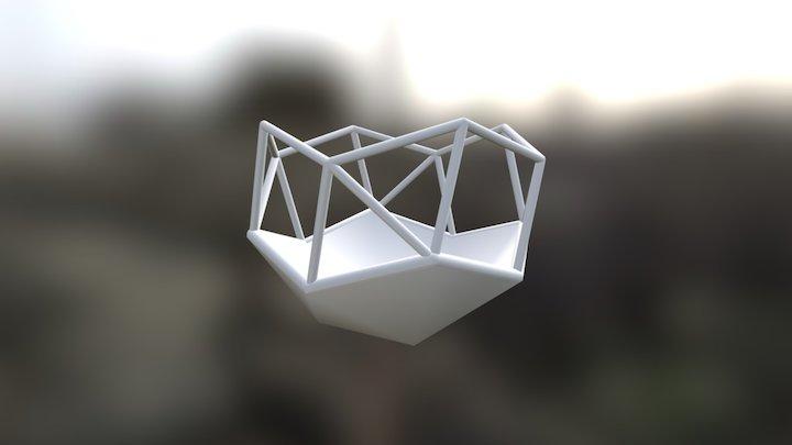 Snub Cube Terrarium 3D Model