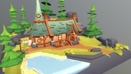 Oracle's Cottage 3D Model
