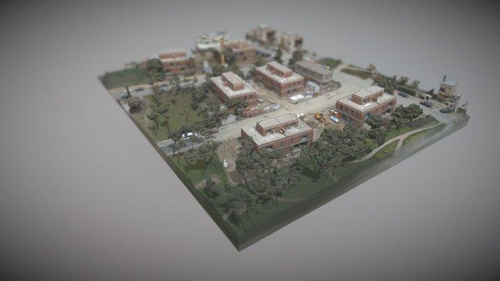 vuelo_pozuelo_3D 3D Model