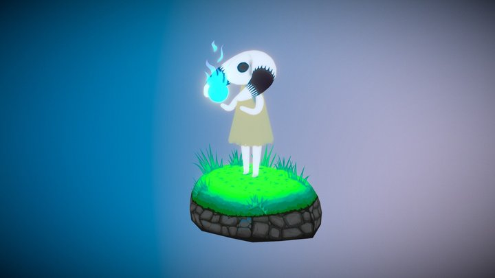 You found a spirit orb! 3D Model