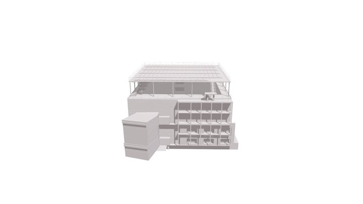 Unéole's energetic Hub 3D Model