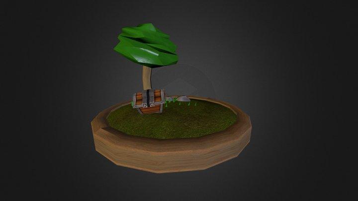 small land 3D Model