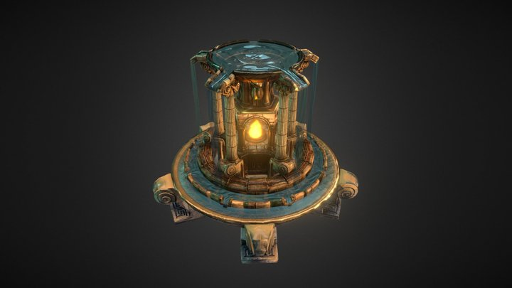 The Fountain 3D Model