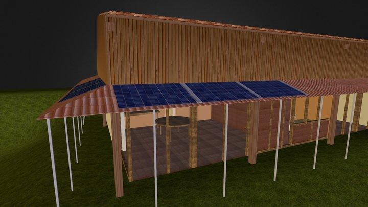 Hangar Rouche 3D Model