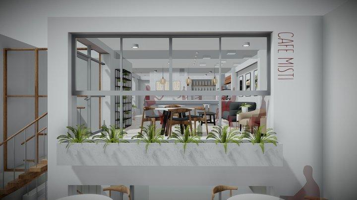 Cafe-Misti 3D Model