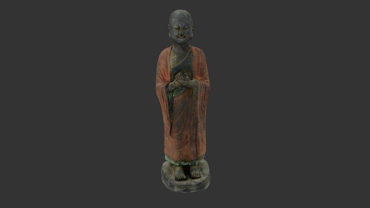 Monk 3D Model