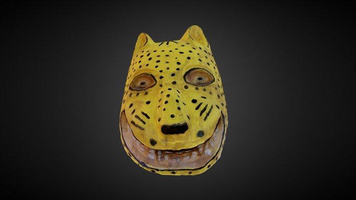 El Tigre Mask 3D Model