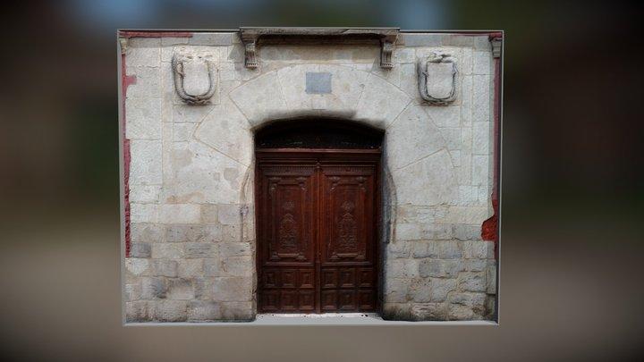 Portada Casa de los Miranda (Valladolid) 3D Model