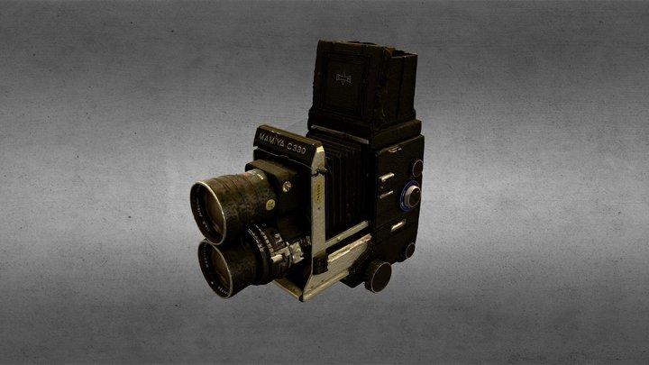 Mamiya C330f 3D Model