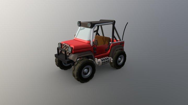 HCR2 Hill Climber Mk. 2 3D Model