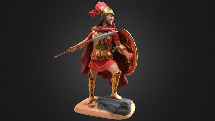 Leonidas Miniature 3D Model