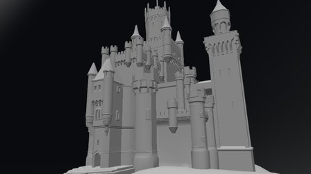 Castle - for demo game. 3D Model