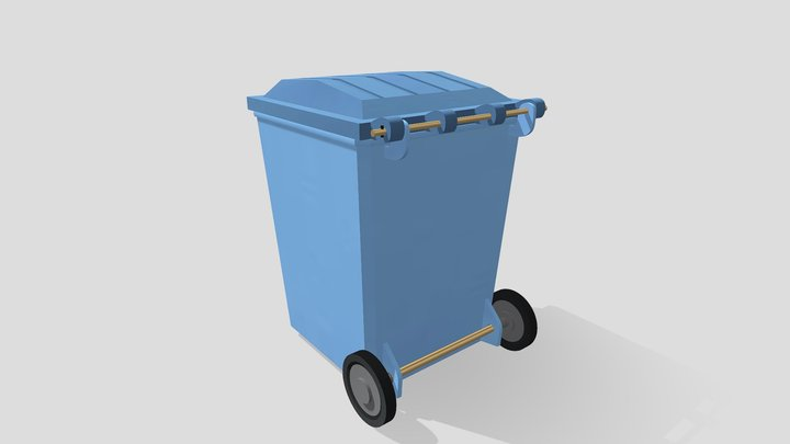 Lid and Container 3D Model