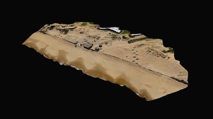 Portezuelo Wreck 3D Model