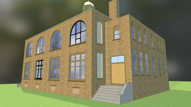 Melita School 3D Model