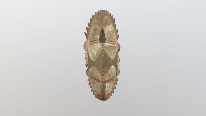 Dviveidžio protėvio kaukė. XX a. Ramu 3D Model