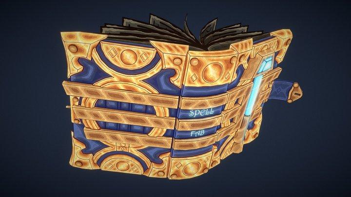 Paladin's Book : Spell Fab 3D Model