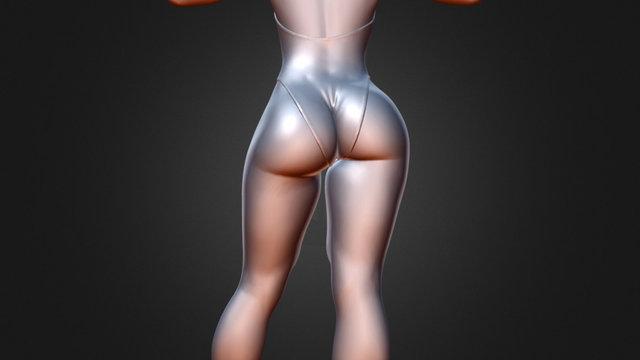 Nicole Body 3D Model