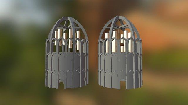 Temples 3D Model