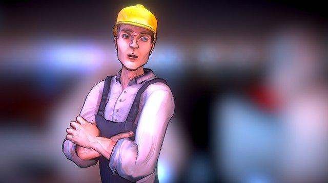 Workman- video game character 3D Model