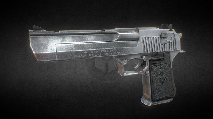 Desert Eagle .44 3D Model