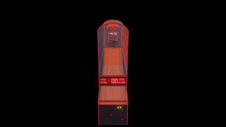 Arcade Hoops 3D Model
