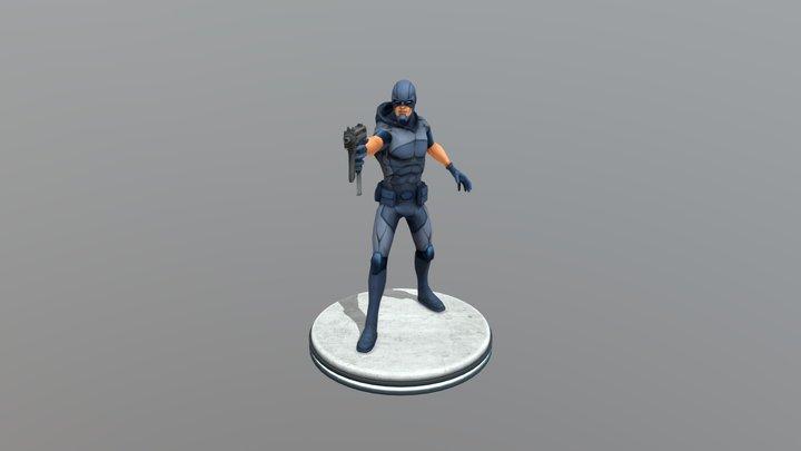 Damon Ryder 3D Model