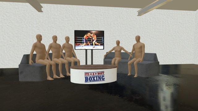 Boxing Studio V0 1 3D Model