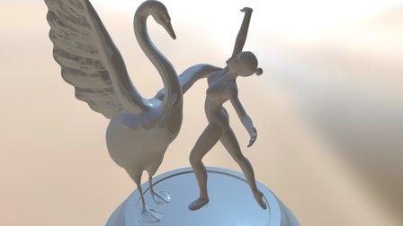 Ballet Scene 3D Model