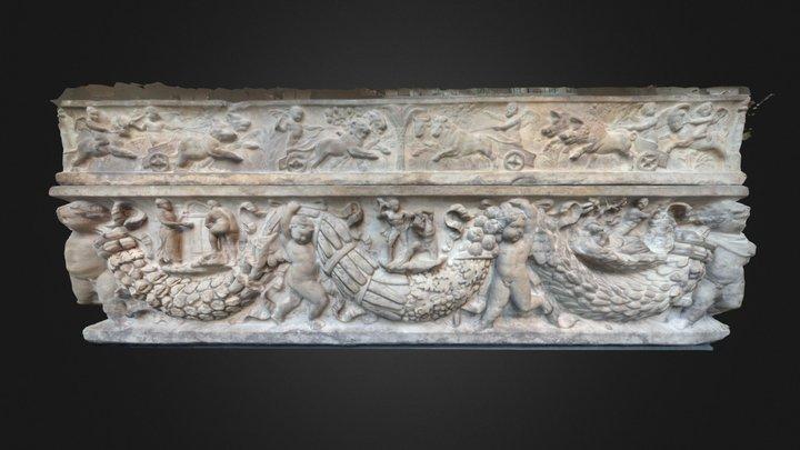 Four Seasons Sarcophagus (metmuseum.org) 3D Model