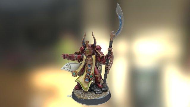 Jason's Ahriman 3D Model