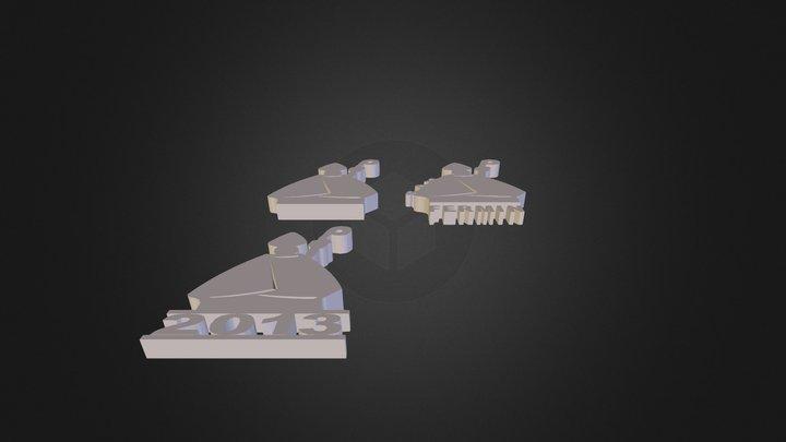 sanfermin conjunt 3D Model