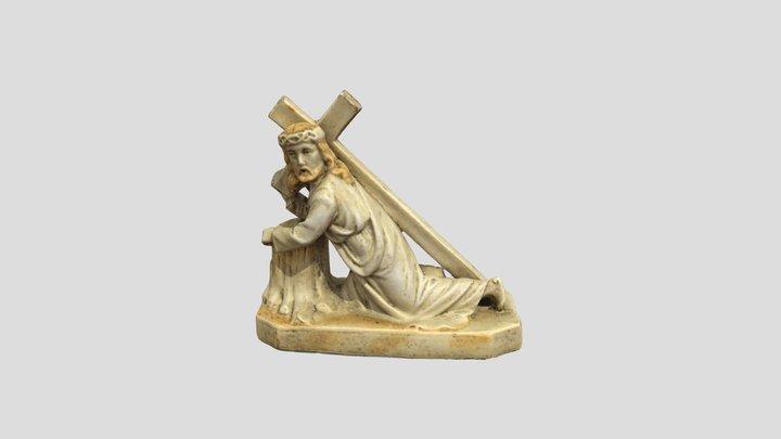 MHK/E/1769 - Figurka Chrysus dźwigający krzyż 3D Model