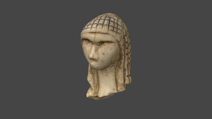Dame de Brassempouy / Dame à la capuche 3D Model