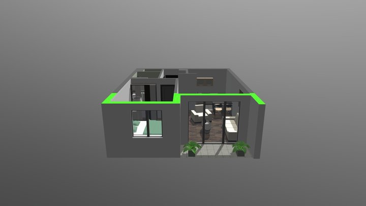 MV model BA103 3D Model