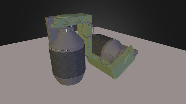HE Frag grenade 3D Model