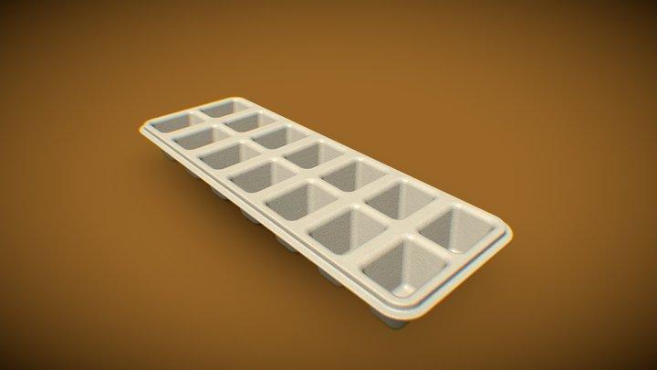 ICE CUBE TRAY - VASCHETTA GHIACCIO 3D Model