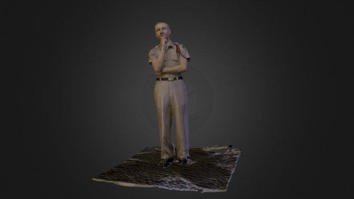 Travis 3D Model