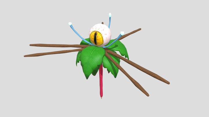 PlantBoy End Boss - Not animated 3D Model