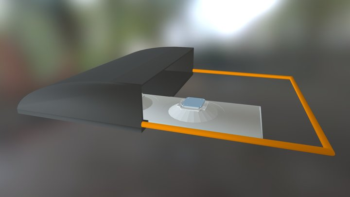 Area Lighting Applications 3D Model