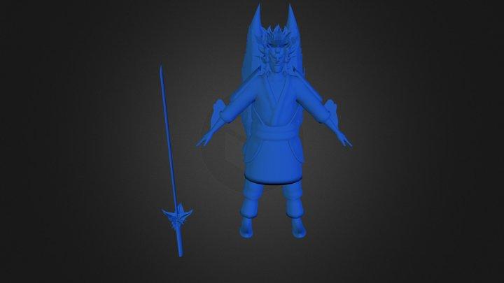 Perfect Susanoo 3D Model