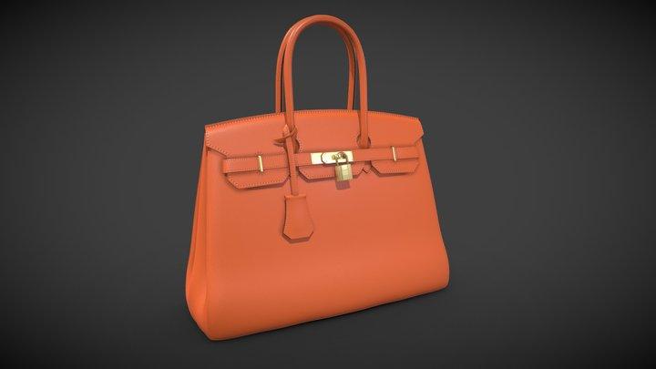 Hermes Birkin Bag 3D Model