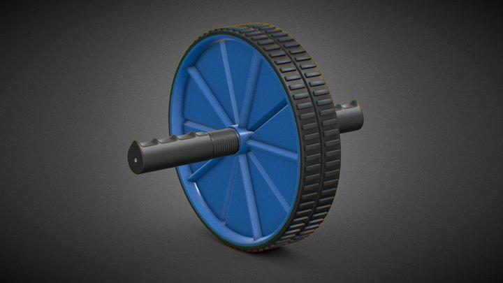 Ab Roller Wheel 3D Model