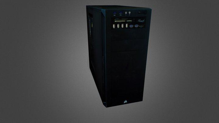 Corsair 200R 3D Model