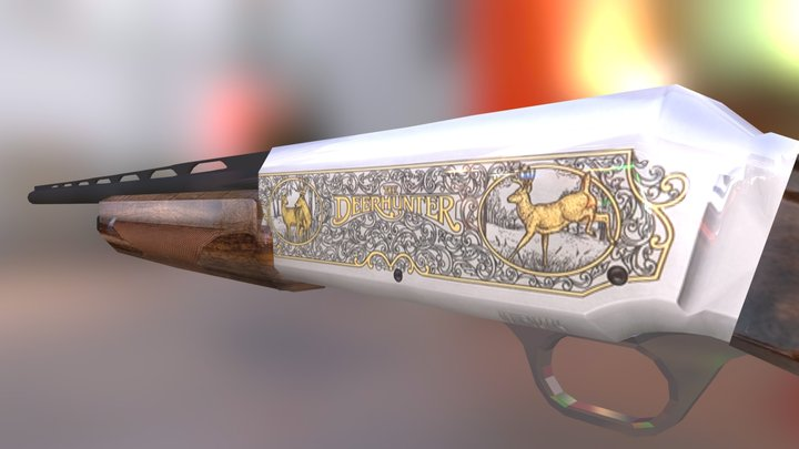 Buck Shot 3D Model