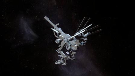 Jean-Baptiste Observatory Final Proxy model 3D Model