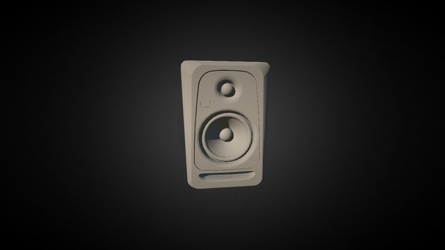 KRK monitor speaker 3D Model